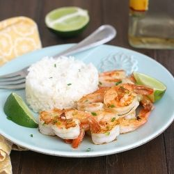 Tequila-Orange Grilled Shrimp - a quick and easy weeknight meal idea! #foodgawker