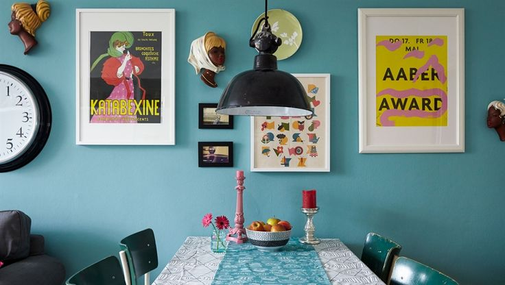A reforma de estilo rural em um apartamento Alemão
