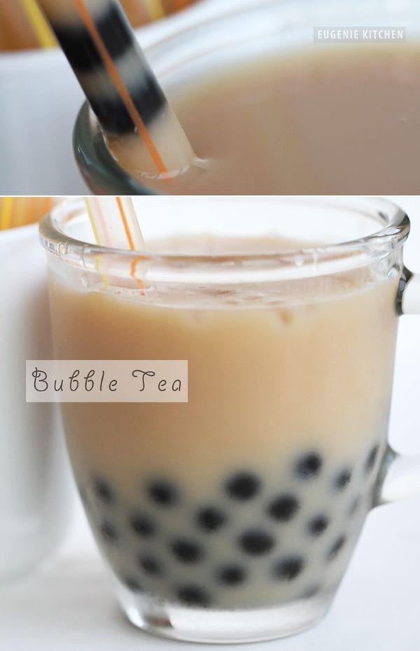Tapioca Bubble Tea Recipe - Boba Milk Tea - Eugenie Kitchen