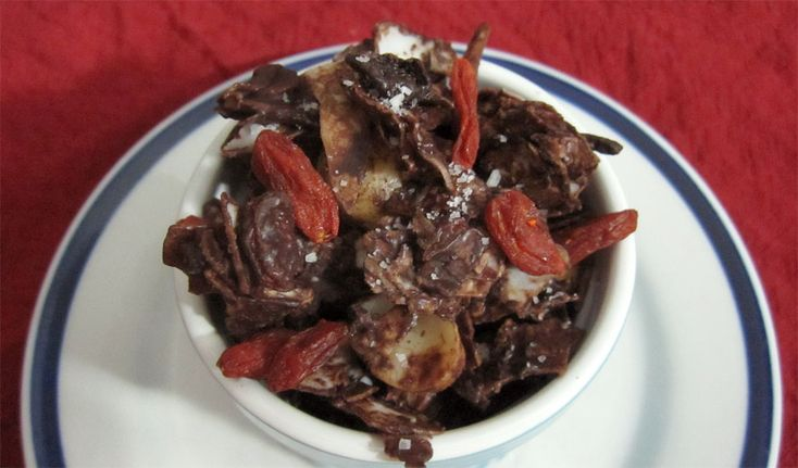 Chocolate Coconut Snack Mix