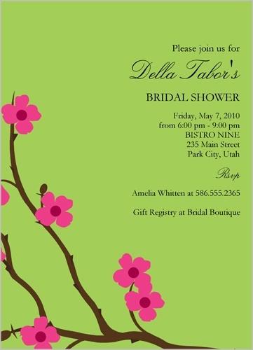 Shutterfly.com - Tea Garden Bridal Shower Invitation - at $1.46 each ...
