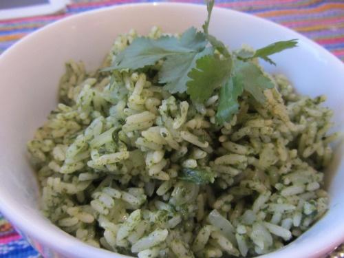 lucysfriendlyfoods | Mexican green rice | Vegan | Pinterest