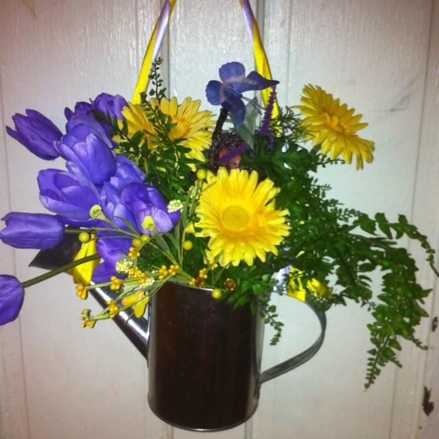 Spring Door Wreath Spring Ideas Pinterest