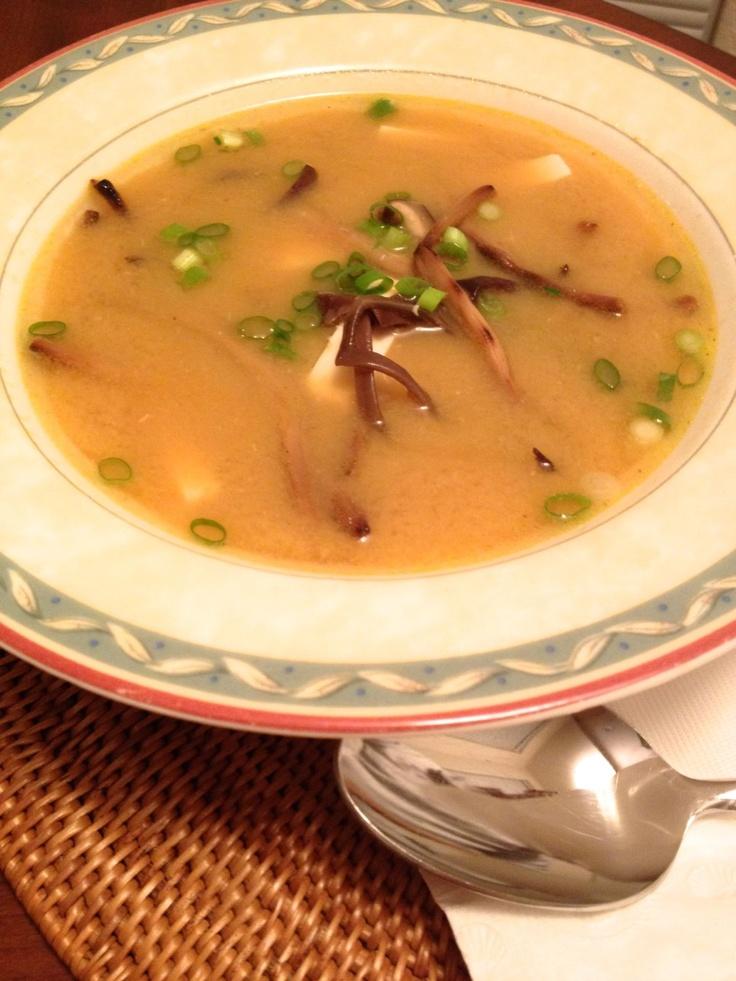 Vegetarian Hot & Sour Soup | food | Pinterest