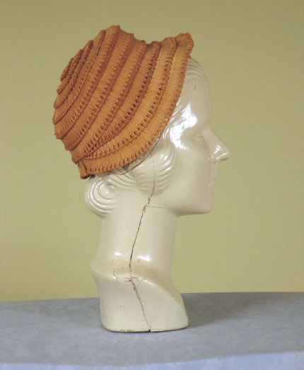 1870 - 1880s ___ Straw Hat ___ from The Tasha Tudor Collection at 2012 Whitaker Auction
