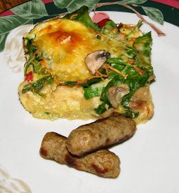 Shel's Kitchen: Overnight Egg Strata | yummy | Pinterest