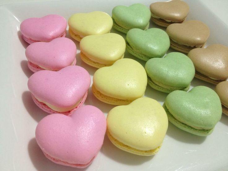 valentine's day macarons recipe