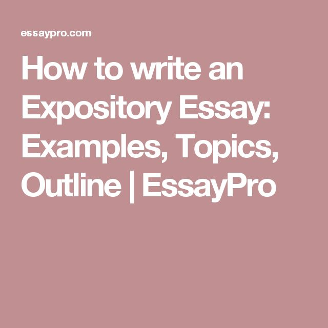 Write my purdue owl expository essay