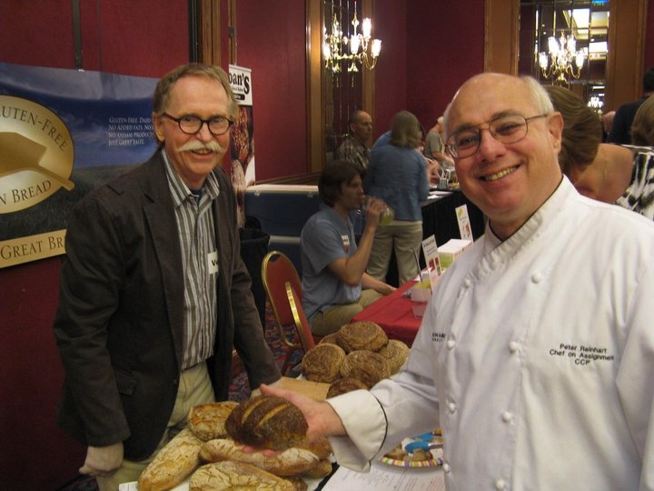 Charles Luce of Luce's Gluten Free Artisan Bread and Chef Peter ...