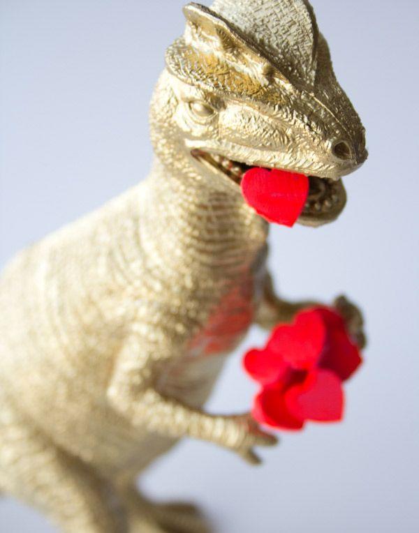 DIY Dino Valentine