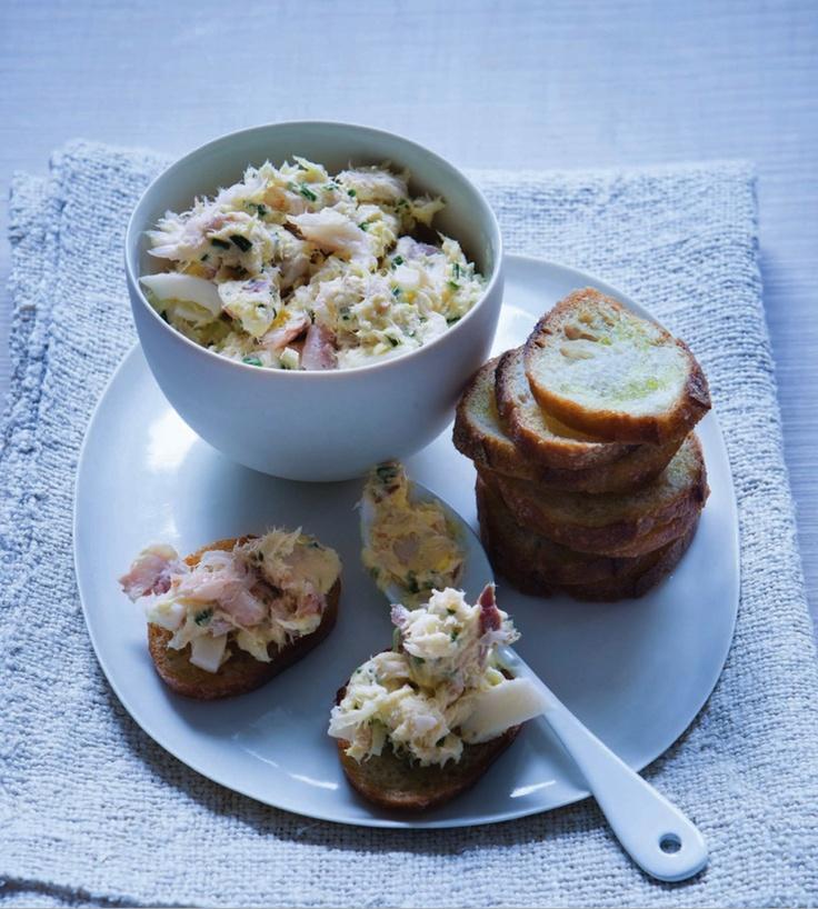 Smoked Fish Crostini Recipes — Dishmaps