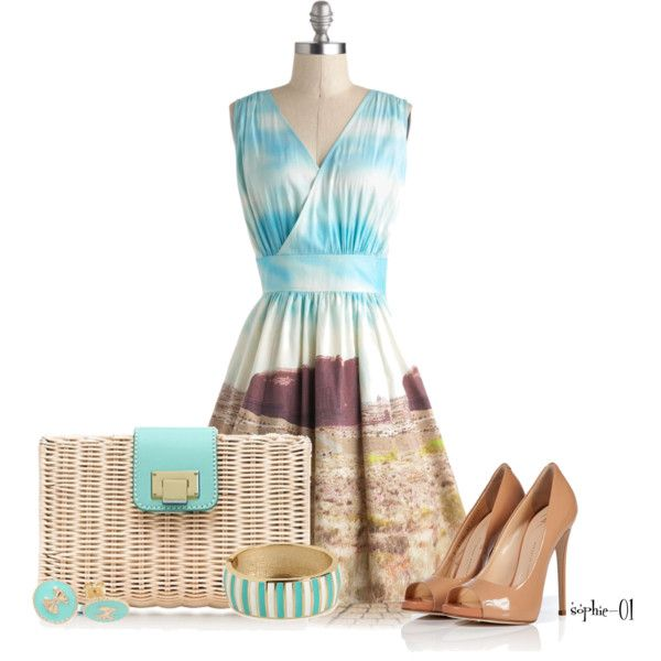 Contest Idea~ Unique Printed Dresses, created by sophie-01 on Polyvore