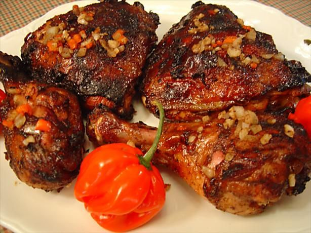 Jamaican Jerk Chicken for Two | Recipe