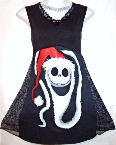 ... Nightmare Before Christmas Santa Jack diy Disney babydoll jumper dress