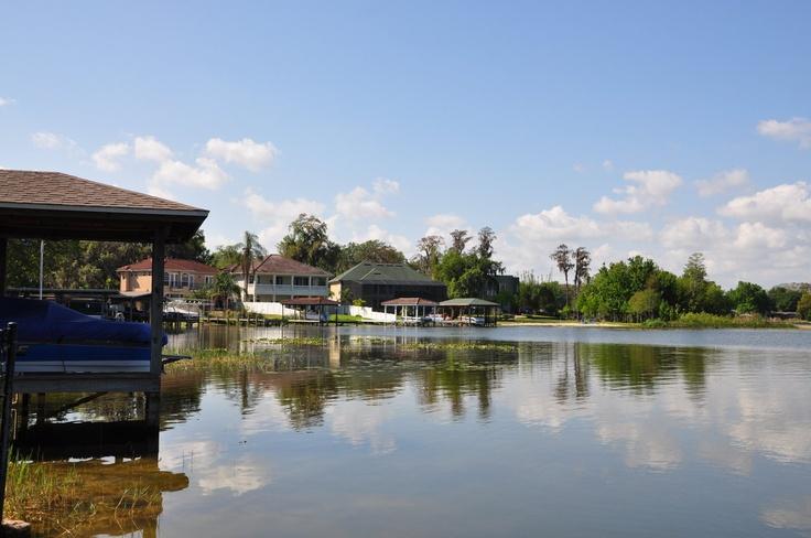 Lake jessamine is a 292 acre public access ski lake in for Fishing in orange county