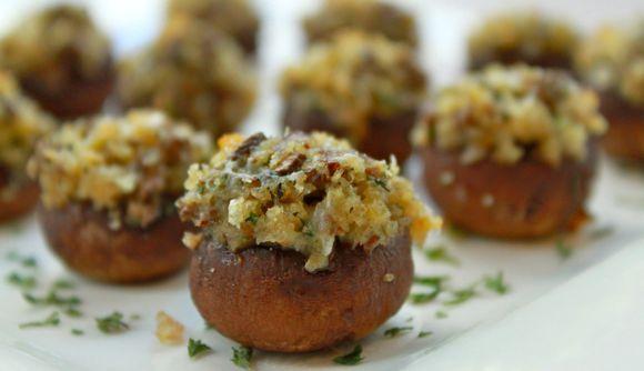 Boursin Stuffed Mushrooms Recipe — Dishmaps