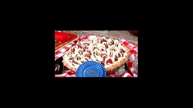 Ghirardelli Chocolate Championship Winner ~ Raspberry Rhubarb ...