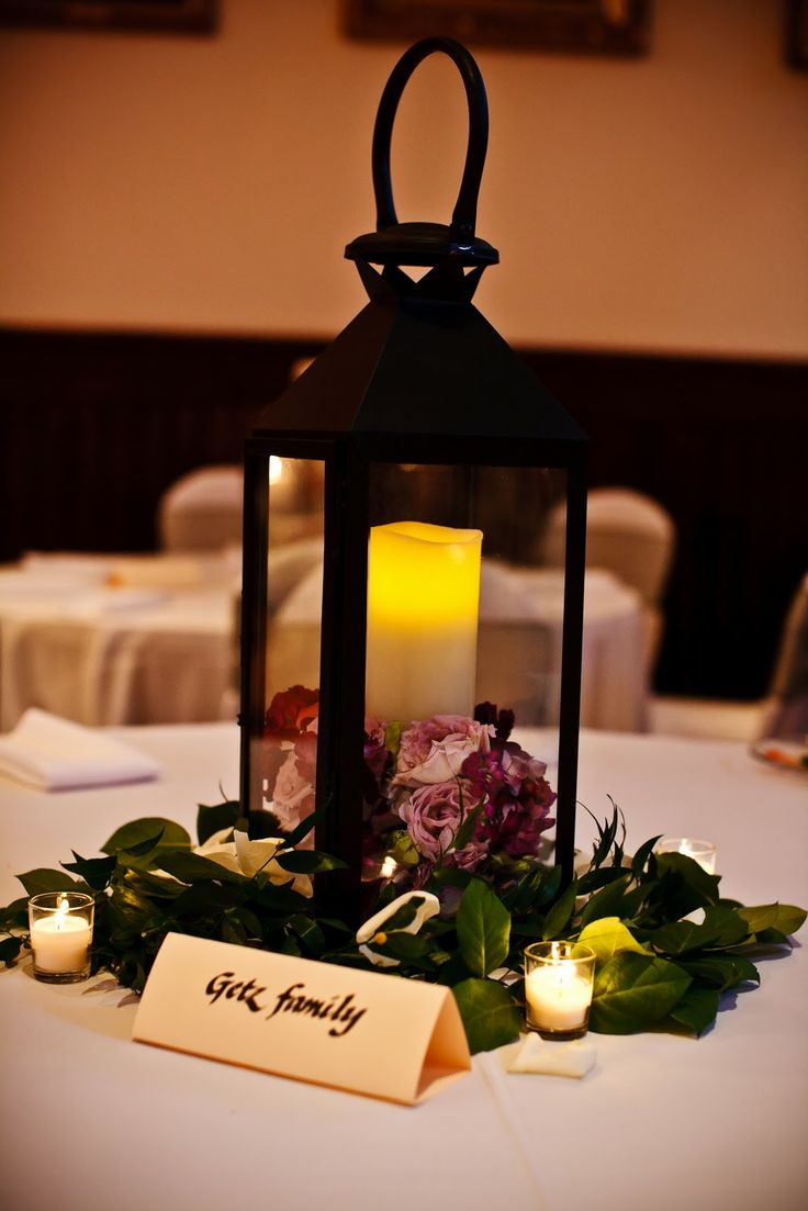 Lantern centerpiece idea my big day pinterest