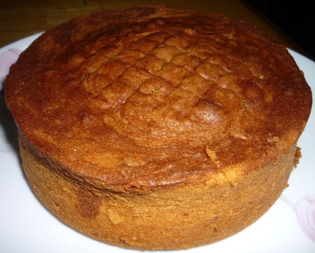 Orange Marble Butter Cake | Cakes | Pinterest