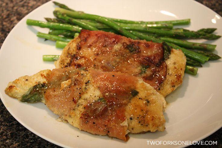 Skinny Chicken Saltimbocca Recipe — Dishmaps