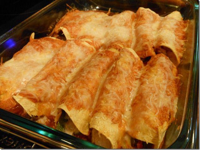 Roasted Vegetable Enchiladas | Main Dishes | Pinterest