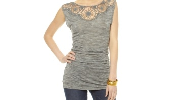 Tracy Reese Grey Tunic by
