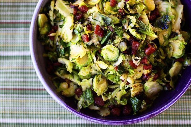 Stir Fried Brussels Sprouts with Chinese Sausage @ Foodie With Family ...