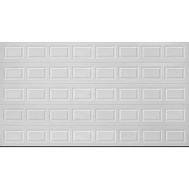 Pella traditional 16 ft x 8 ft insulated white double for 16 x 8 garage door