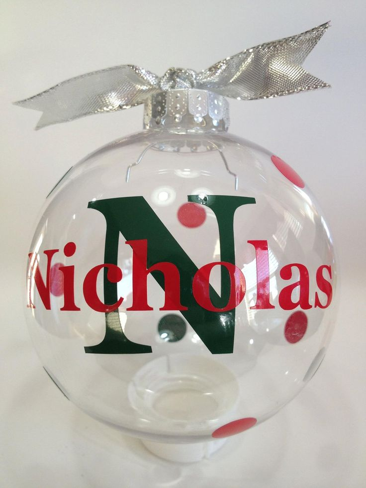 Custom personalized christmas ornament 3 inch for Customized photo christmas ornaments