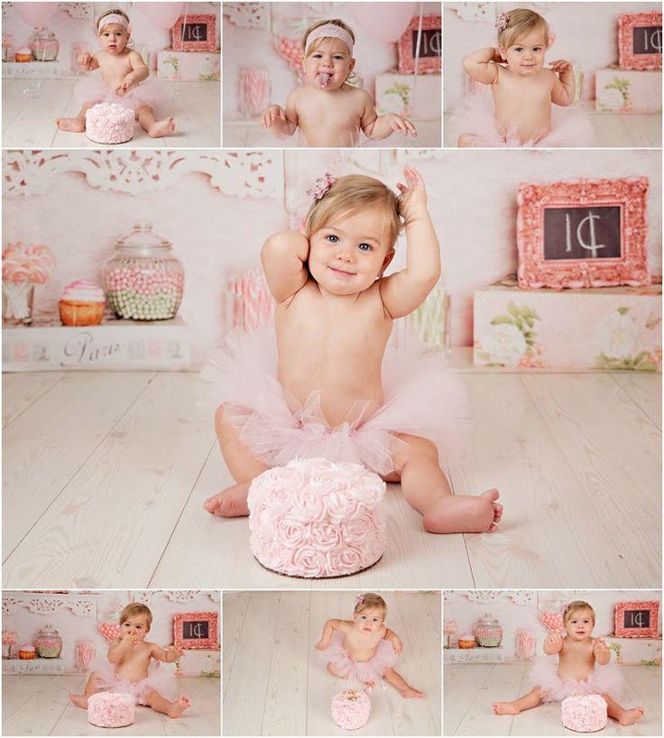 Cake Smash Girl 1st Birthday