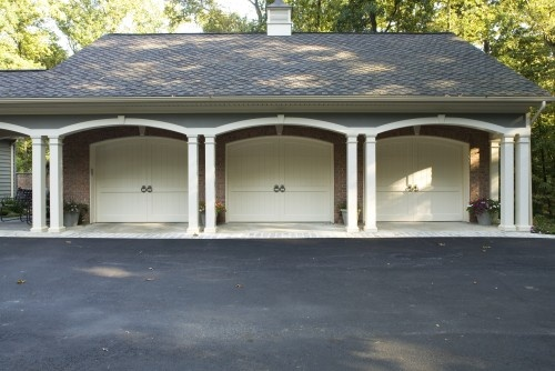 Detached garage for jeremy pinterest for Garage overhang
