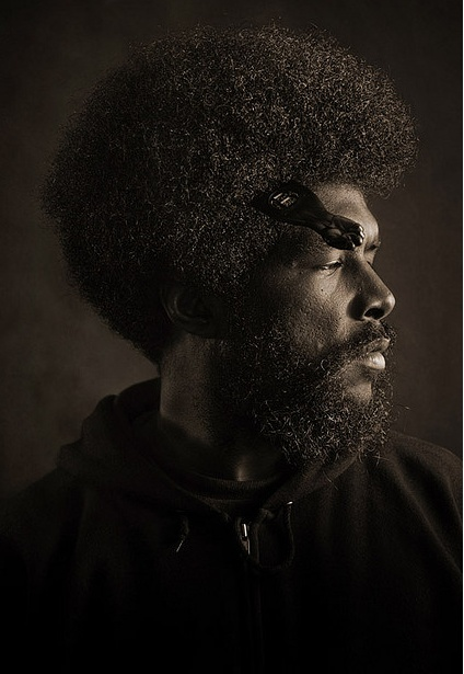 QuestLove, the current hardest working man in show business.