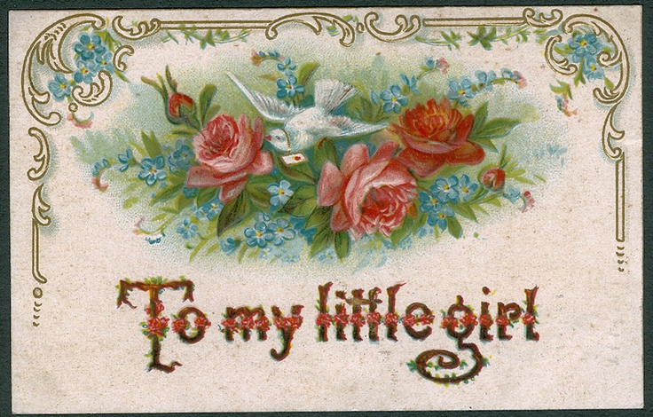 valentine's day vintage postcards
