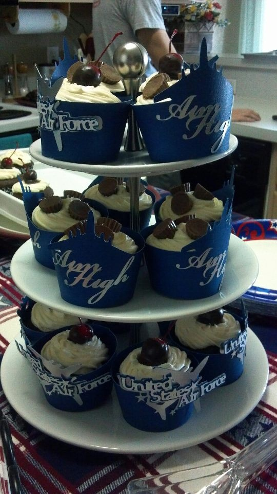 Airforce cakes cupcakes cake ideas and designs for Air force cakes decoration