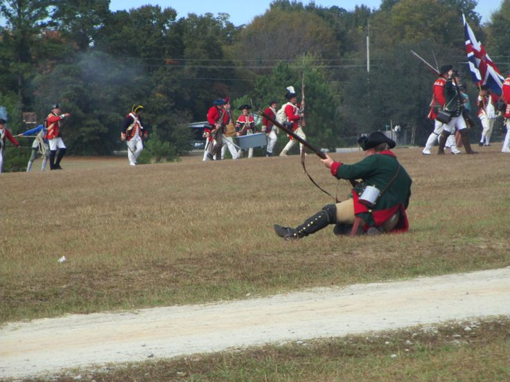 Battle of Camden Reenactment, 2013