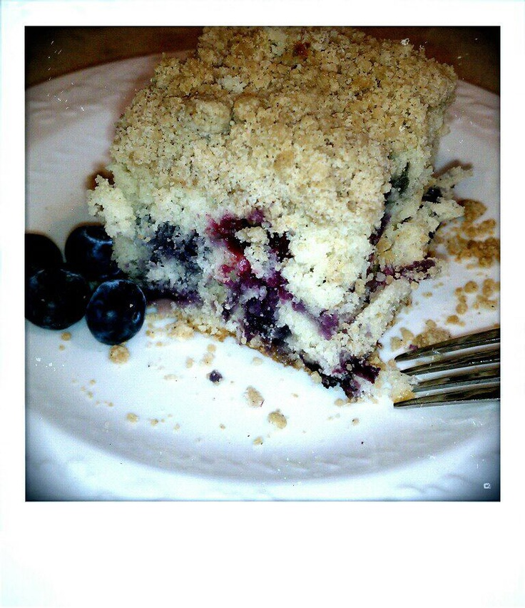 Blueberry Crumb Coffee Cake. | Food | Pinterest