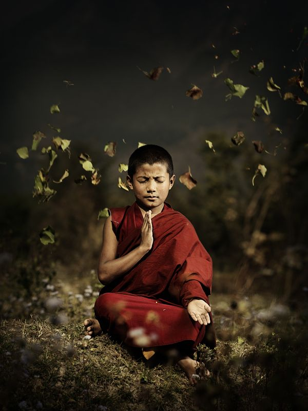 The Monks: a photography series by Bal Deo, via Behance