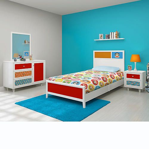 paul frank bedroom in a box colorful spaces for kids pinterest
