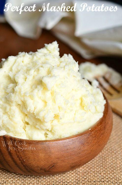 Perfect Mashed Potatoes | Favorite Recipes | Pinterest