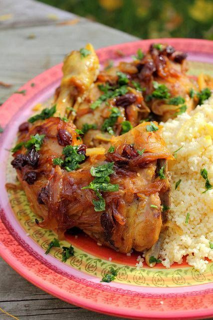 Moroccan Chicken | Food: African Fare | Pinterest