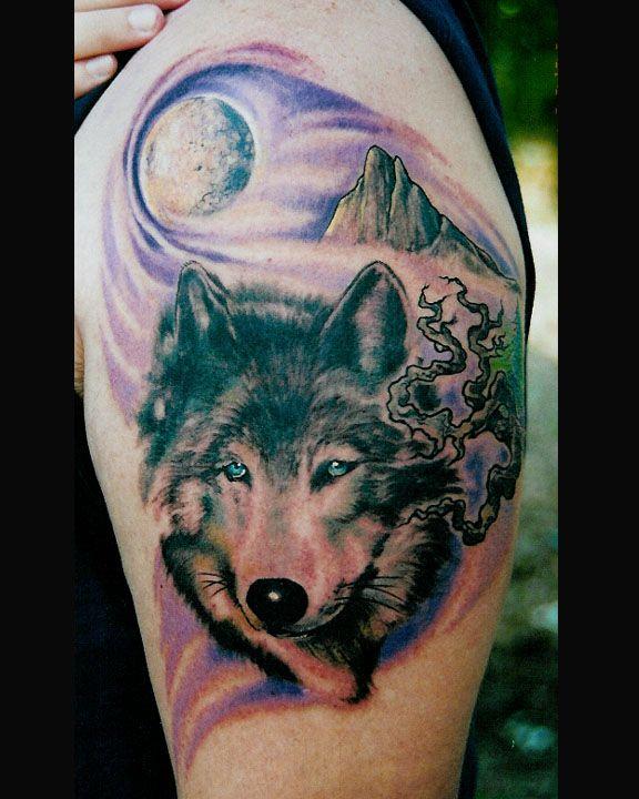 Blue eyes for david wolf tattoo ideas pinterest for Wolf eyes tattoo designs