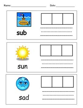 This activity packet includes 20 pages of fun practice for beginning learners to make CVC words, learn letters, cut and glue, write, follow directi...