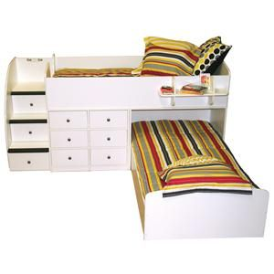 Berg bed available in 5 colors you can pick colorful knobs complete