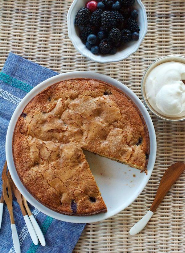 Blackberry Buttermilk Cake | Camille Styles
