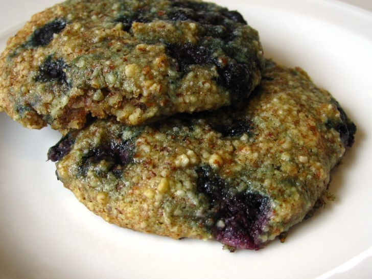 Blueberry Almond Coconut Cookies | Biscuits and Bars | Pinterest