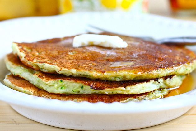 zucchini pancakes with minty dill creme fraiche pancakes nutella ...