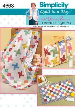 Simplicity baby rag quilt patterns sewing patterns for baby for Simplicity craft pattern 4993