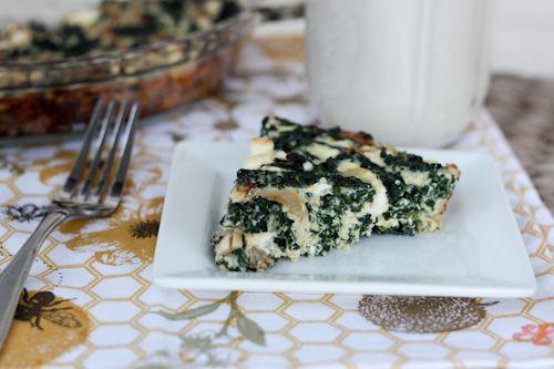 kale and feta quiche | Recipes | Pinterest