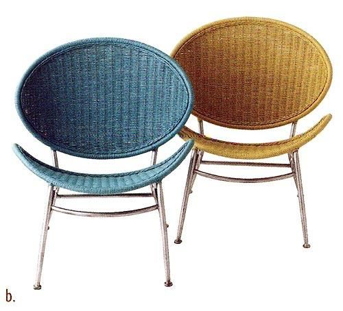 2006 Orbit stackable chair by Pier 1