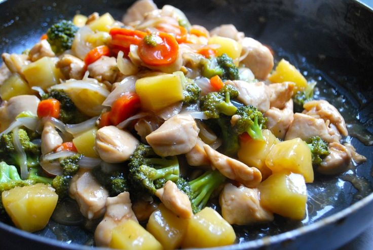 Coconut Nectar Chicken & Pineapple Stir Fry | Main Dishes - Poultry ...